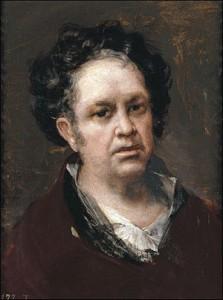 autorrretrato goya 1815