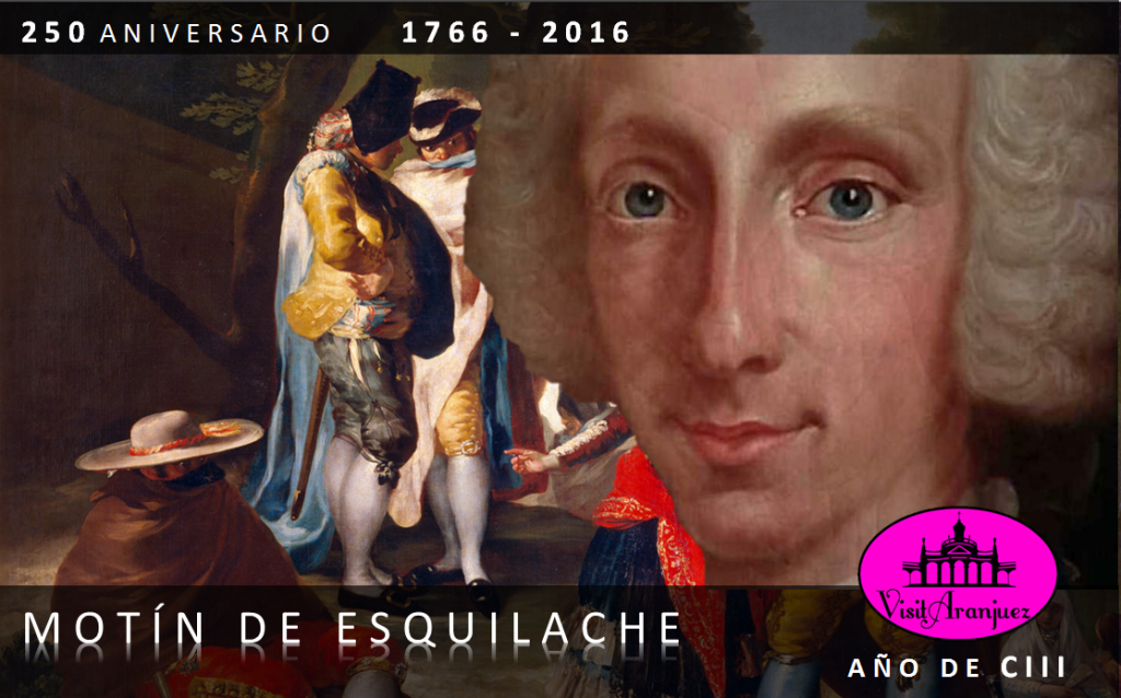 Motín de Esquilache Aranjuez Portada tercer Centenario