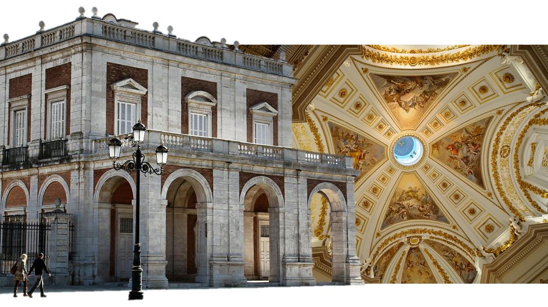 capilla palacio real de aranjuez portada